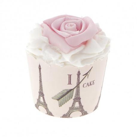 Fleur de massage, rose